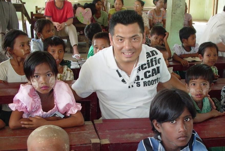 大原としひろの実行力:ミャンマーの子どもたちのためにつくった学校について